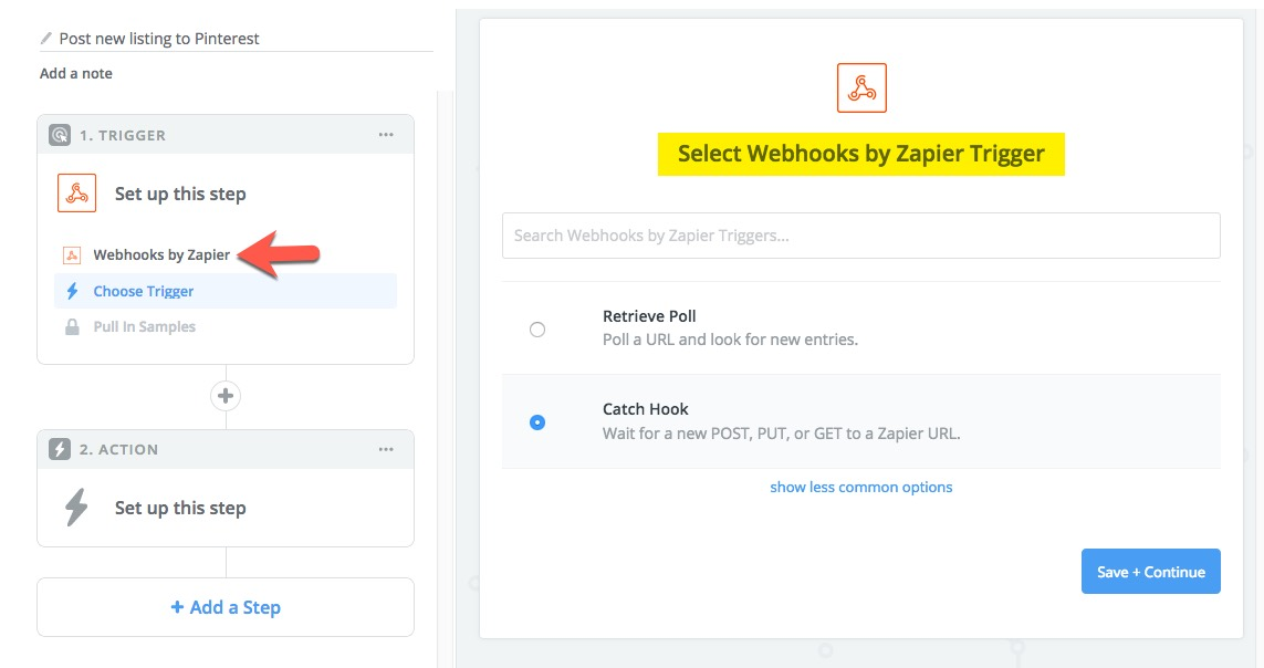 How to share new listings on Pinterest using Zapier?