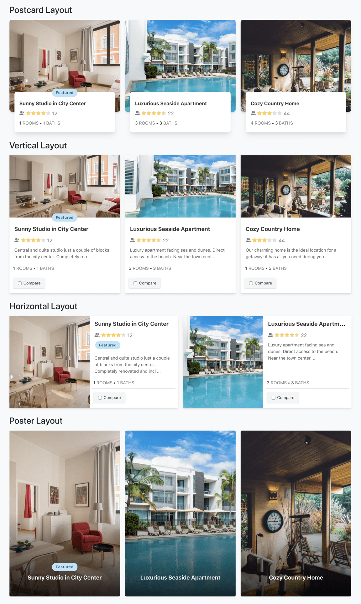 JReviews stunning listing card layouts