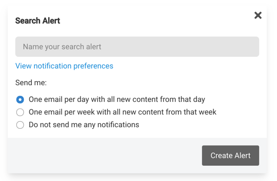 Search Alerts for Joomla and WordPress