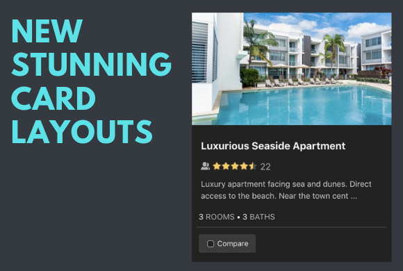 How to start using the new beautiful card layouts for listings