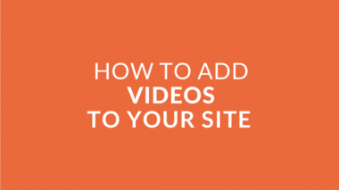 Intro #3 - Adding Videos to your Site the Quick and Easy Way